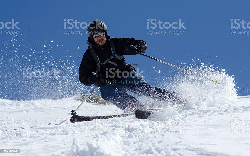 Patagonia Ski stock photo