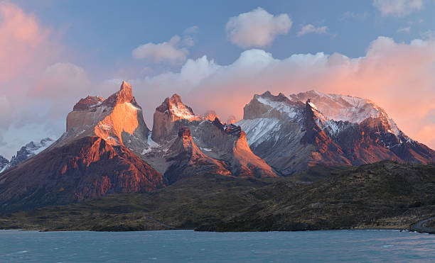 Patagonian Andes stock photo