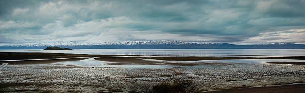 Playa en puerto madryn de la patagonia, argentina - foto de stock