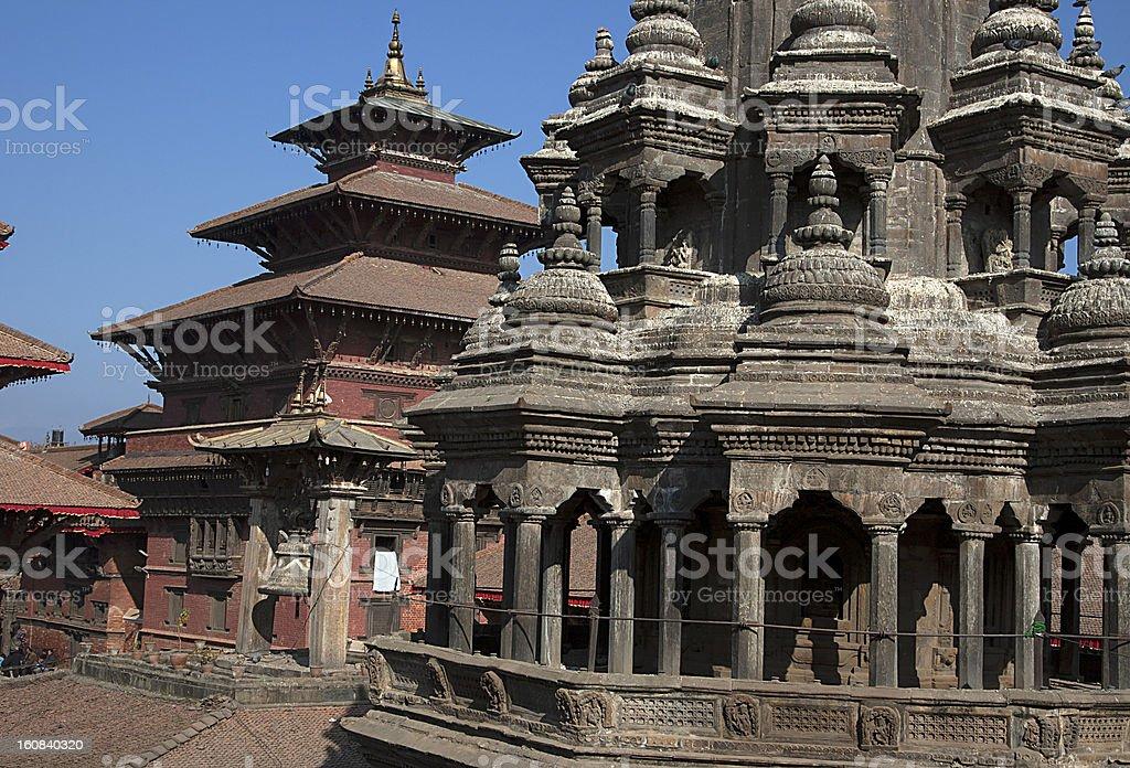 Patan Durbar Square, Kathmandu, Nepal. royalty-free stock photo
