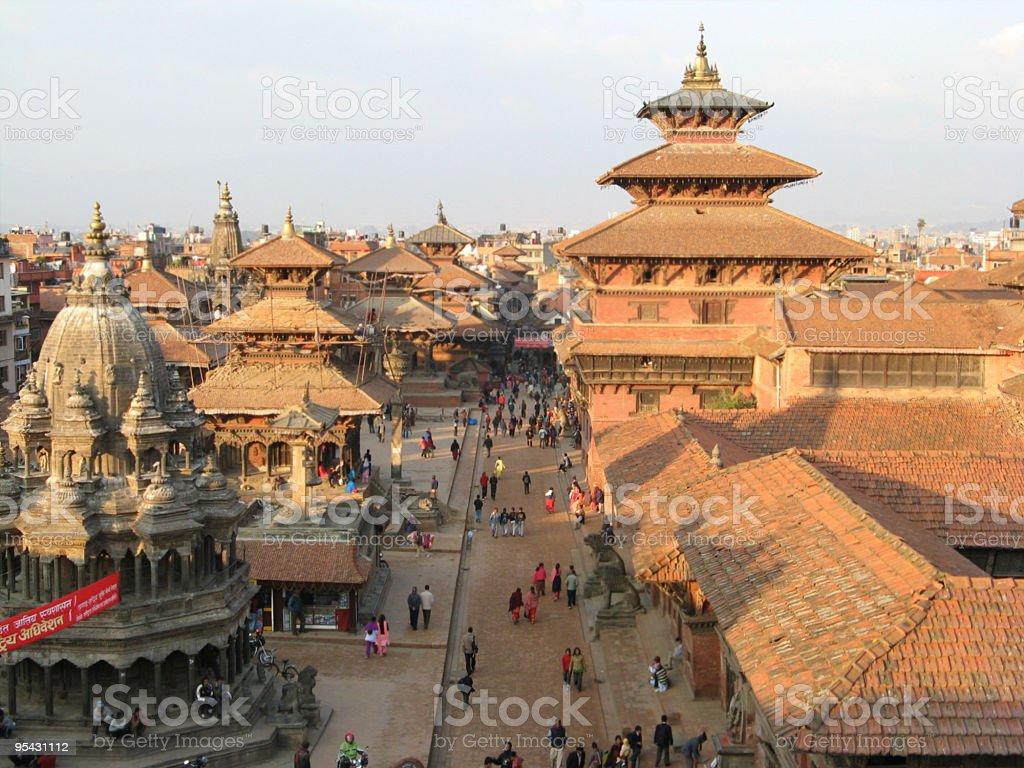 Patan Durbar Square Nepal royalty-free stock photo