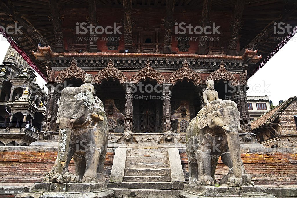 Patan Durbar Square royalty-free stock photo