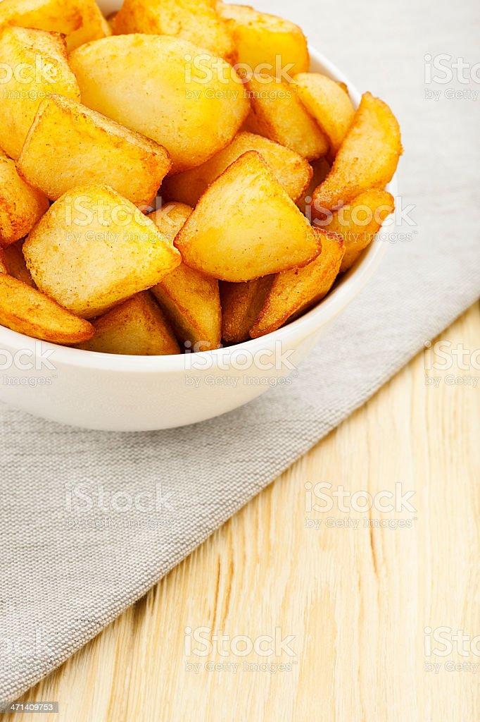 Patatas Bravas stock photo