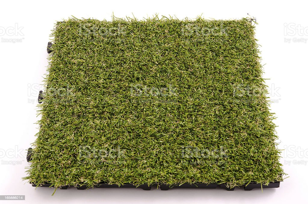 Patch of Artificial Turf royalty-free stock photo