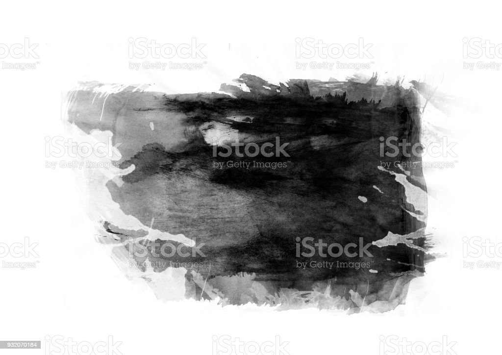 Patches water color graphic color brush strokes patches effect stock photo
