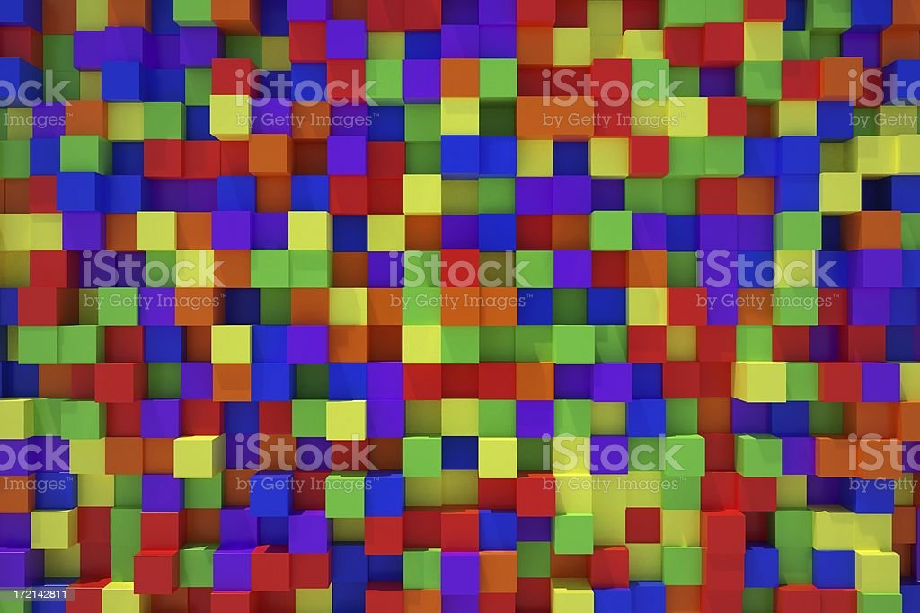 Patchwork (color) royalty-free stock photo