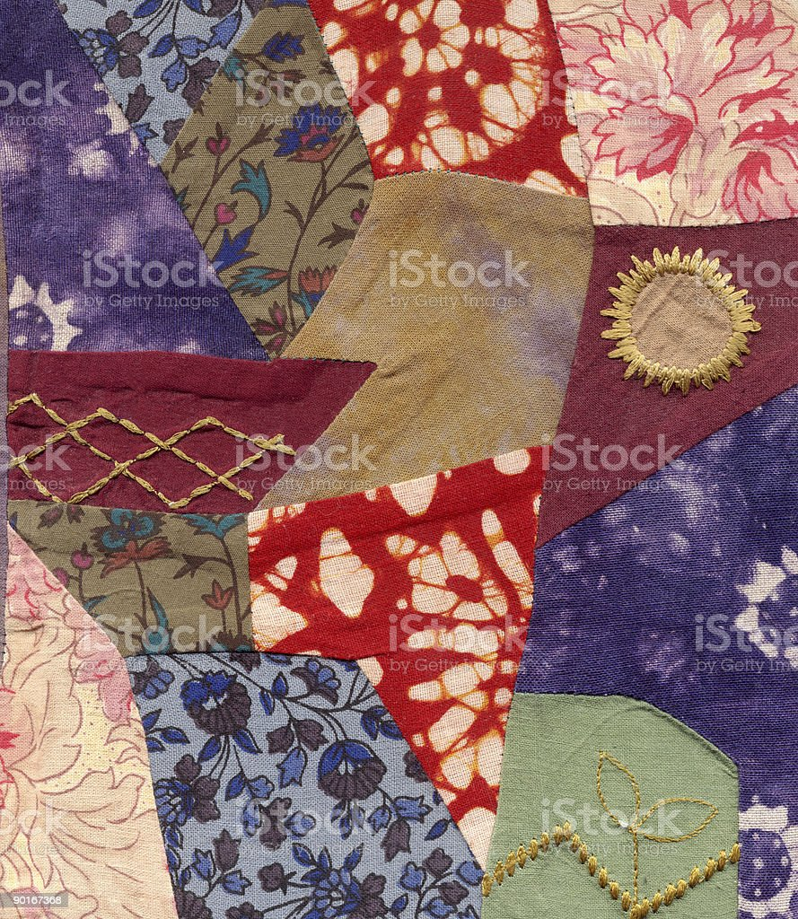 Patchwork royalty-free stock photo