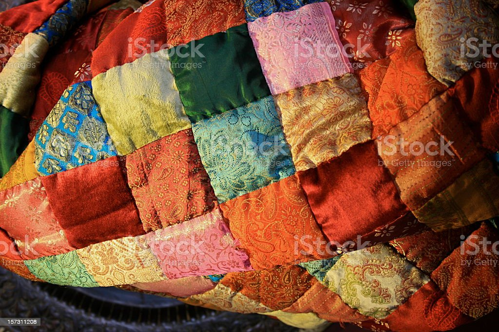 Patchwork Quilt royalty-free stock photo