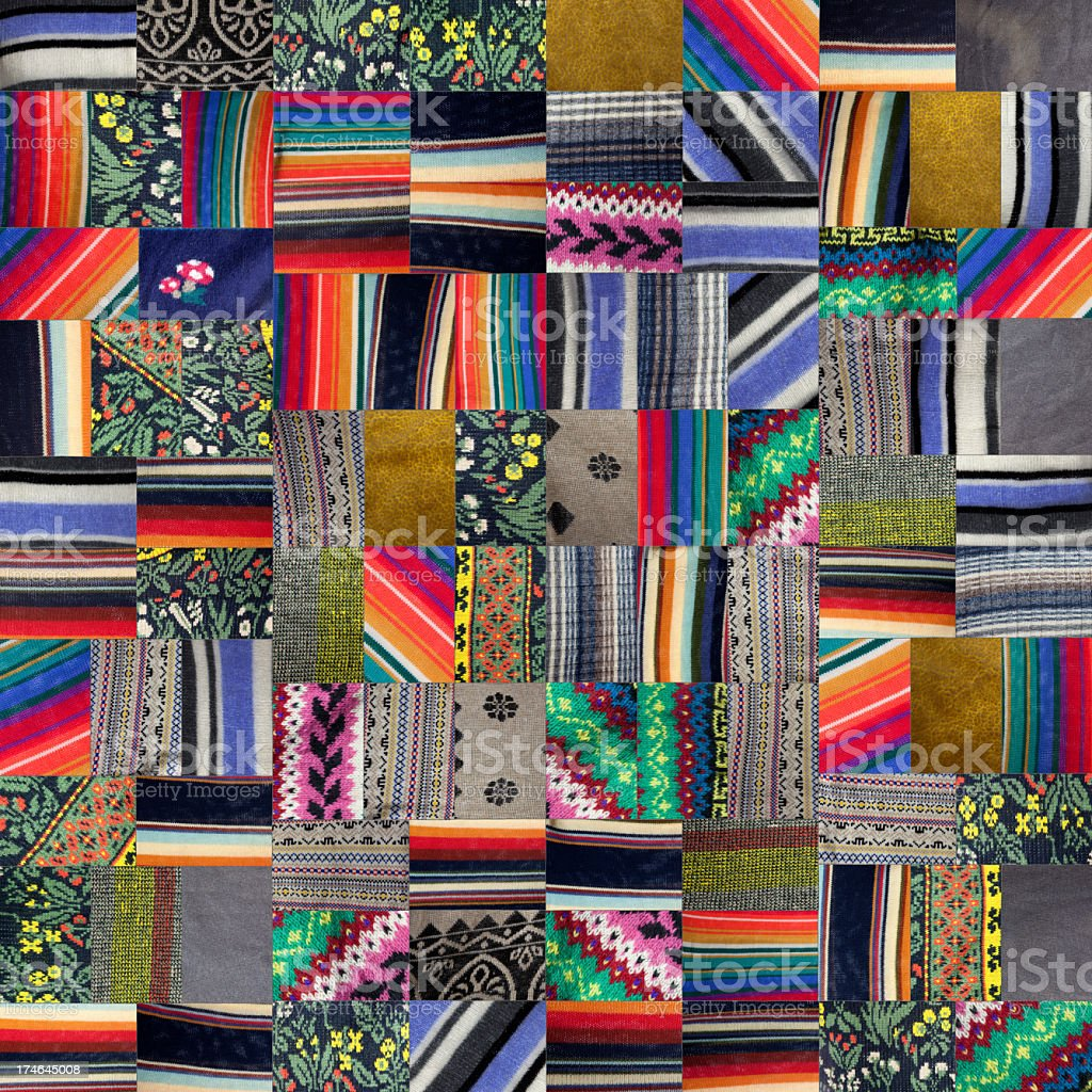 Patchwork Quilt -XXXl - Royalty-free Abstract Stock Photo