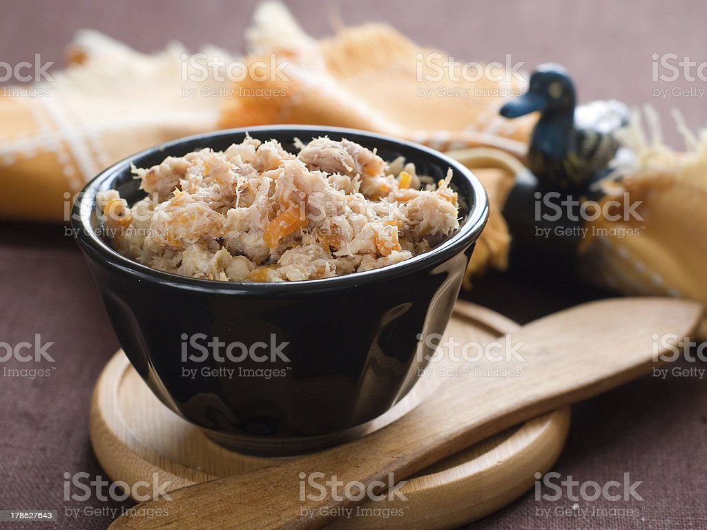 Pate (rilllettes) royalty-free stock photo