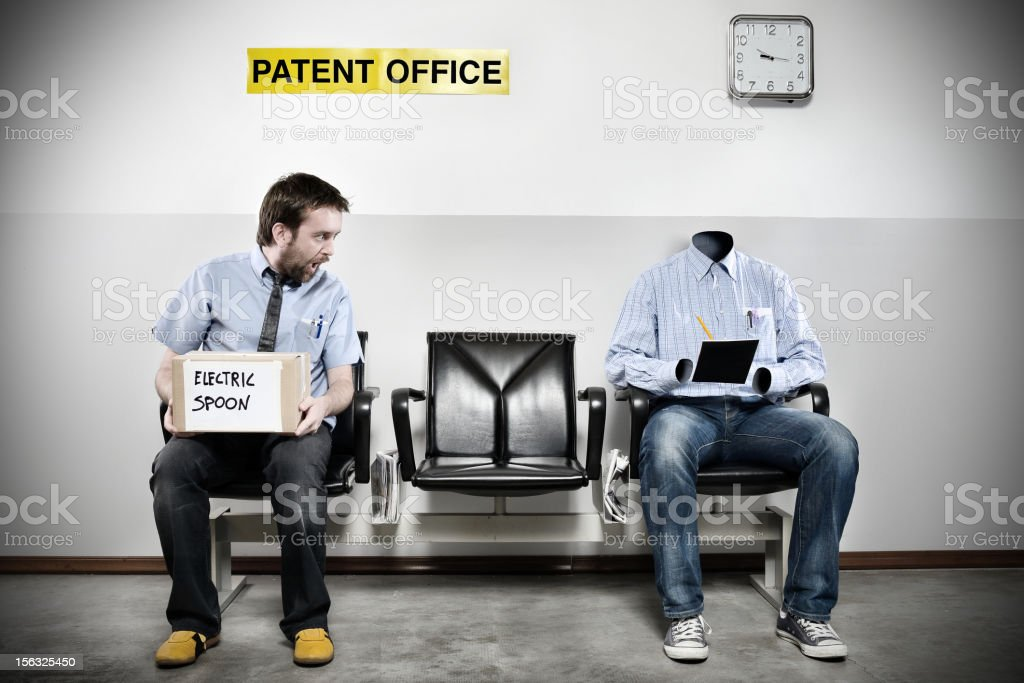 Patent Office Series: Invisible Man stock photo
