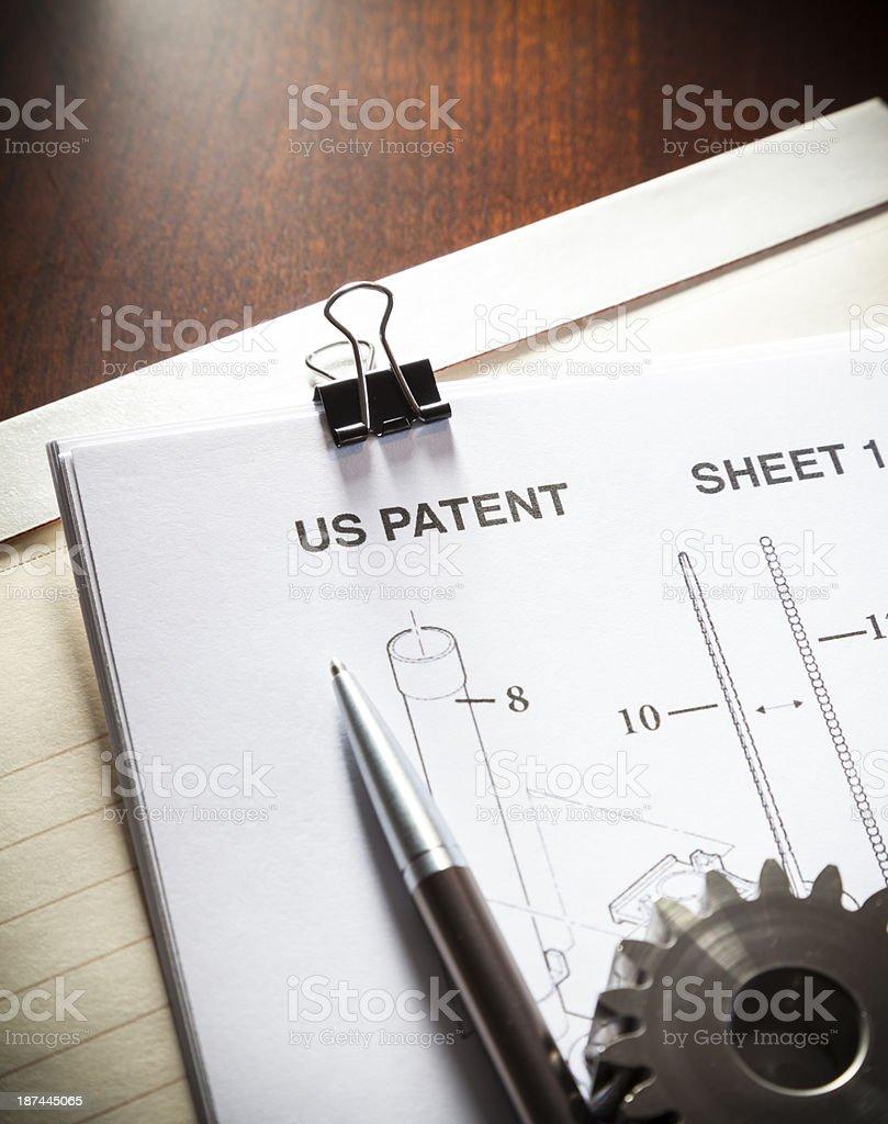 Patent stock photo