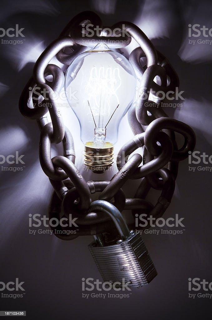 Patent. Protecting Ideas. stock photo