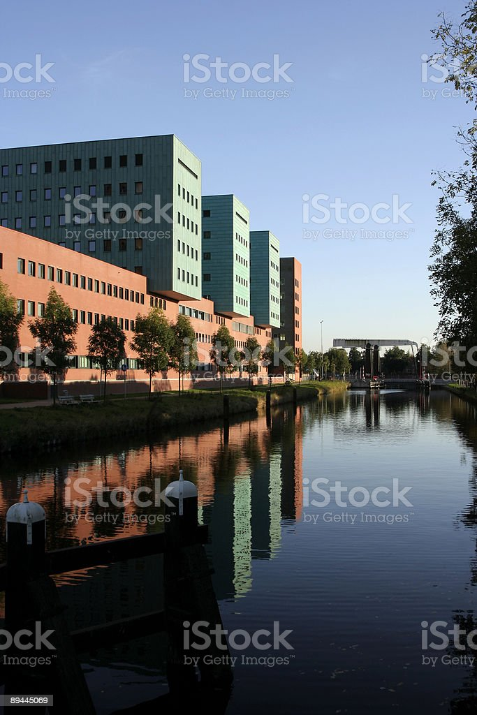 Pateren of officebuildings royalty-free stock photo