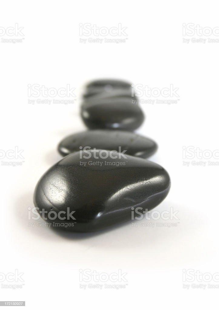 Path of Stones royalty-free stock photo