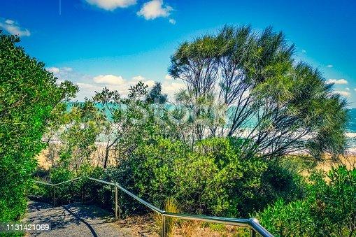 832047798istockphoto Path to a beach 1131421069