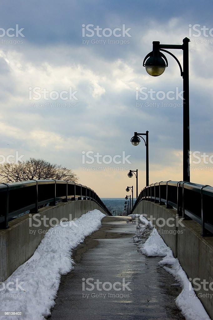 Path to Lake royalty-free stock photo