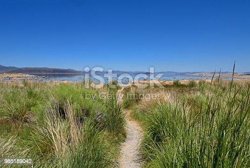 path to Mono Lake, CA