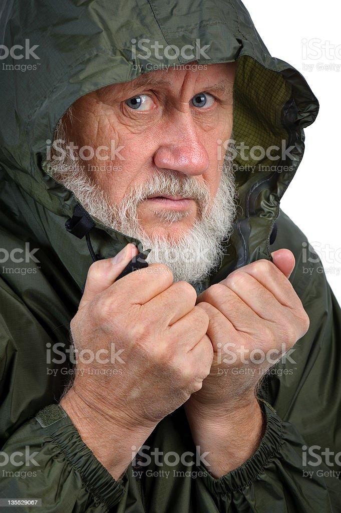 pathetic senior man royalty-free stock photo