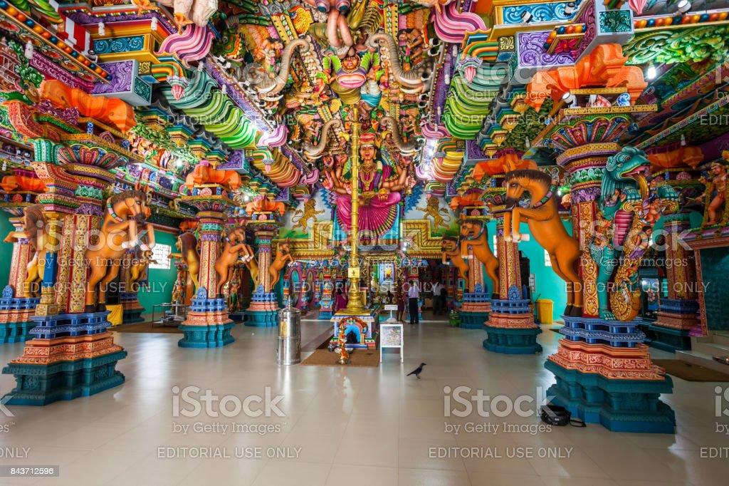 Pathirakali Amman Temple, Trincomalee stock photo