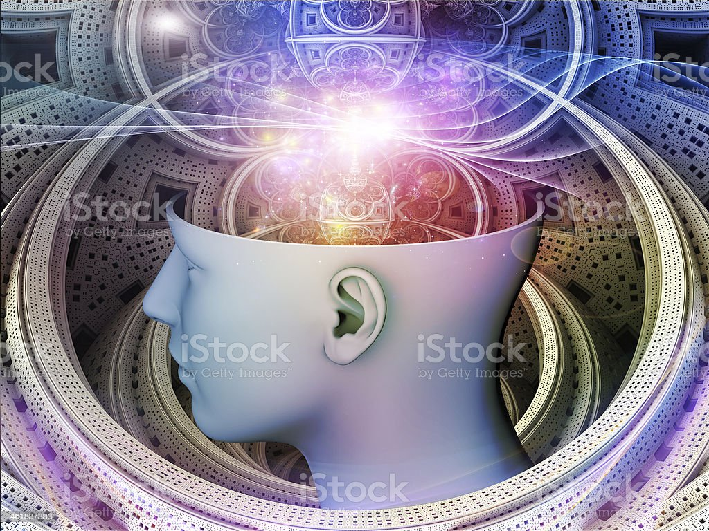 Paths of the Mind royalty-free stock photo