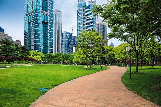 Weg durch den Stadtpark – Foto
