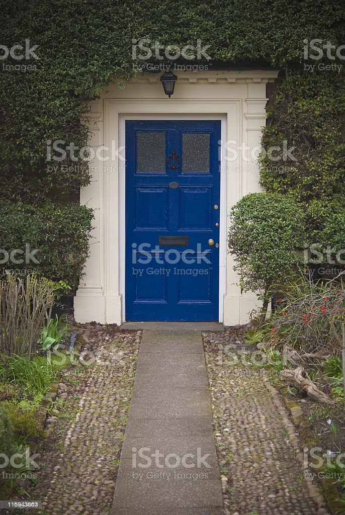 Pathway to home royalty-free stock photo