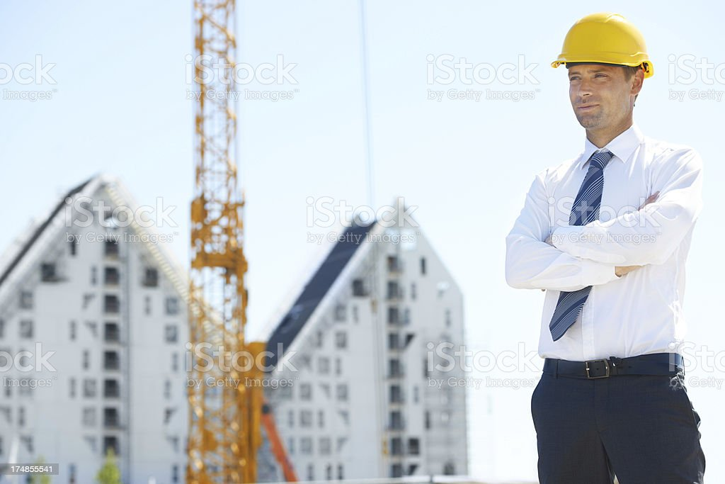 Patience pays off in construction royalty-free stock photo