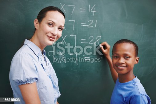 istock Patient and caring teacher 186545803