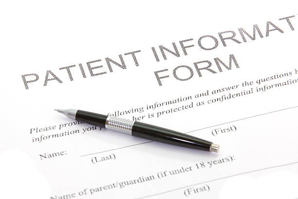 patient form - historic vs new stock photos and pictures