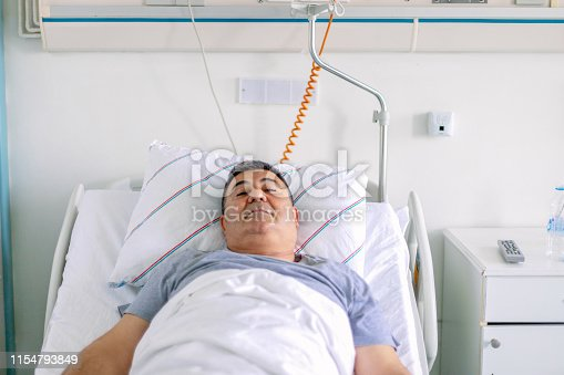 1035479448 istock photo Patient in hospital ward 1154793849