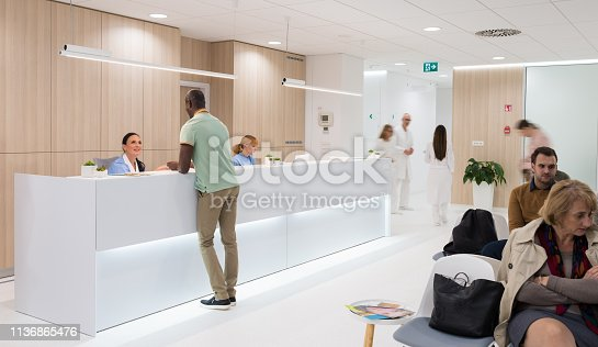Patient In The Hospital