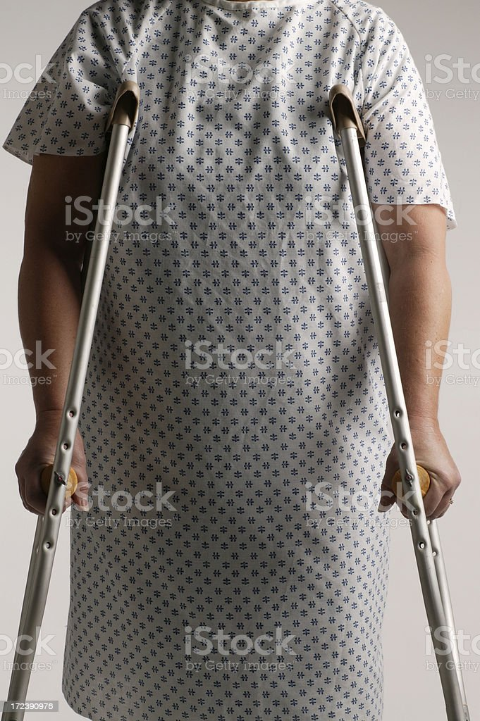 Patient royalty-free stock photo