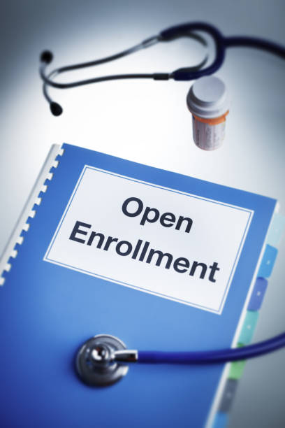 patient protection and affordable care act: open enrollment health insurance - open enrollment stock photos and pictures