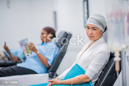 941439642 istock photo Patient Receiving IV Drip Treatment stock photo 1181729566