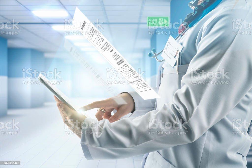 Data, Digital Display, Hospital, Medicine, Registration Form