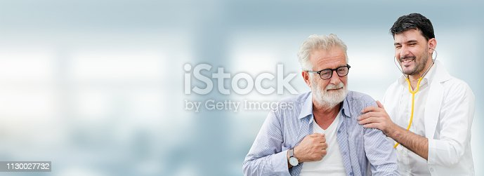 1064843136istockphoto Patient visits doctor at the hospital. Concept of medical healthcare and doctor staff service. 1130027732