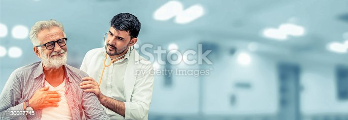 1064843136istockphoto Patient visits doctor at the hospital. Concept of medical healthcare and doctor staff service. 1130027745