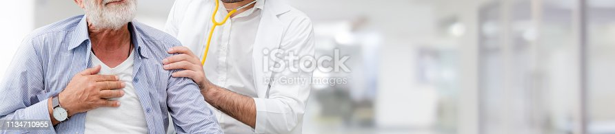 1064843136istockphoto Patient visits doctor at the hospital. Concept of medical healthcare and doctor staff service. 1134710955