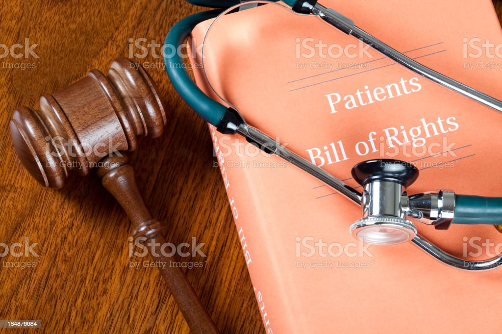Patients rights royalty-free stock photo