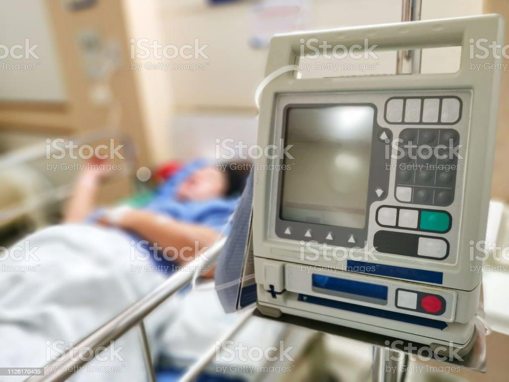Patients saline drilling