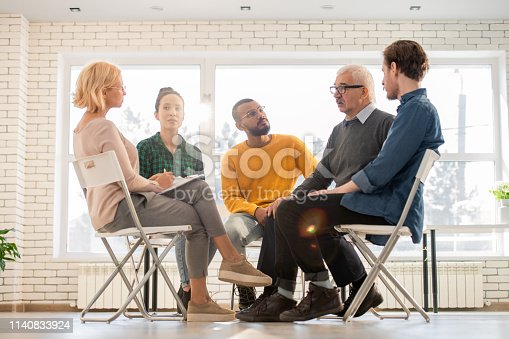 istock Patients talking to counselor 1140833924