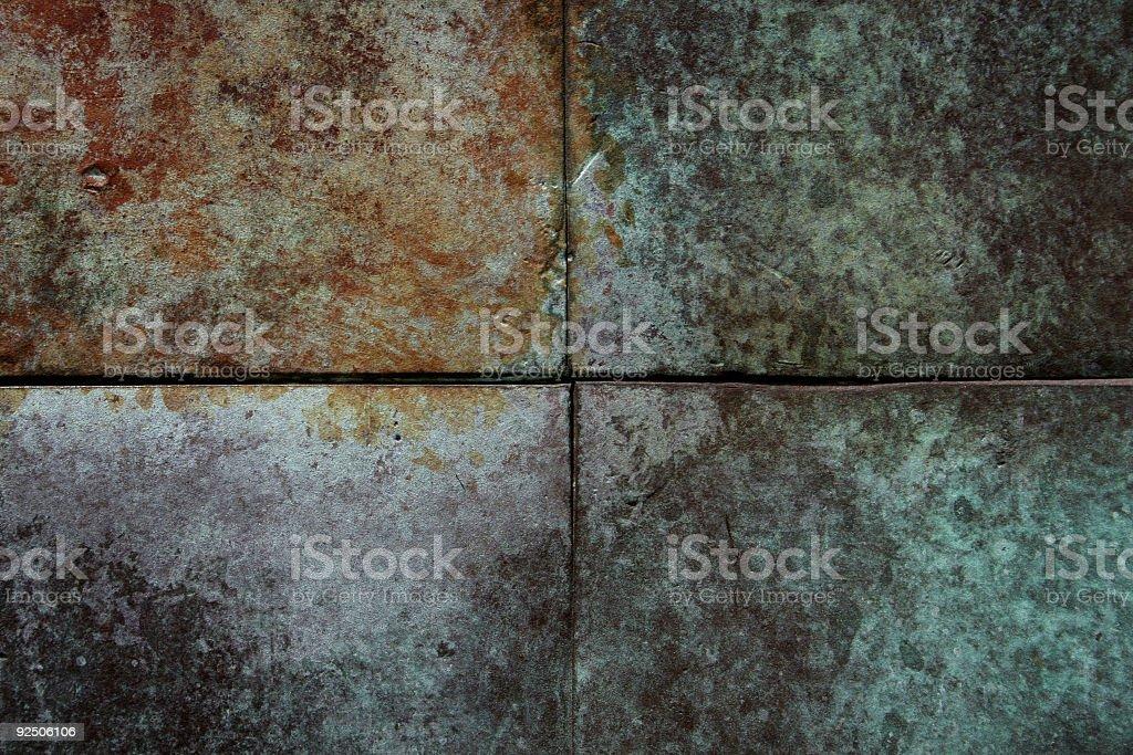 DS patina royalty-free stock photo