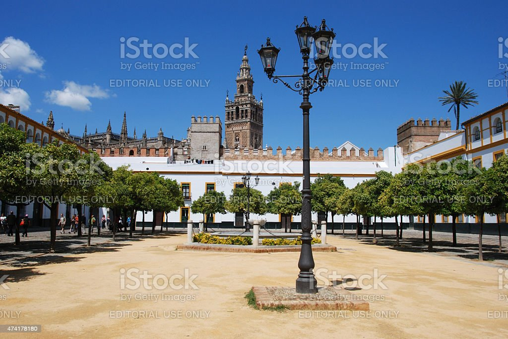 Patio De Las Banderas Seville Stock Photo More Pictures Of 2015