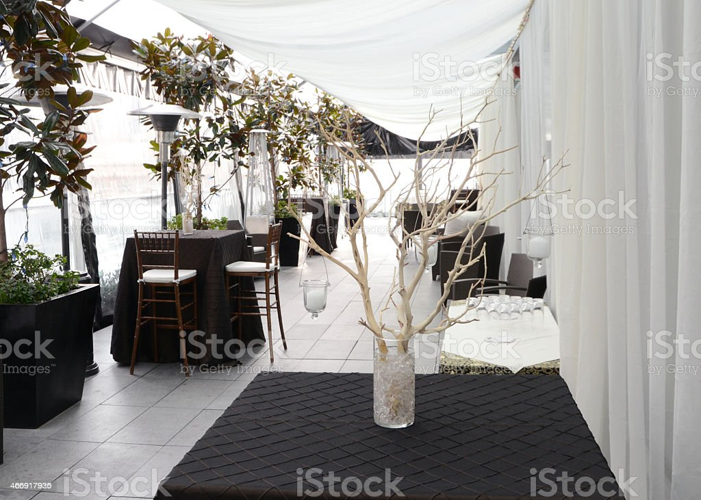 Looking at Patio decor for a party.