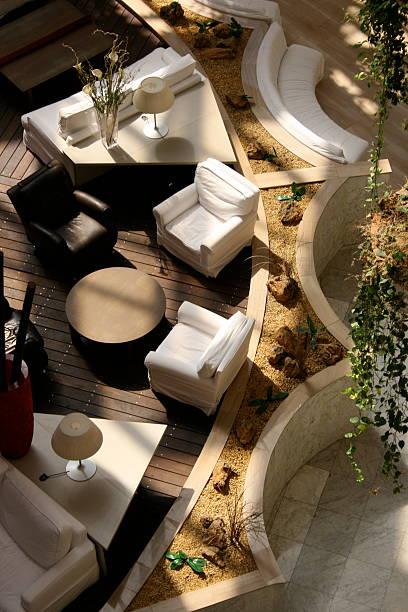 Hof d ' un Hôtel À Séville – Foto