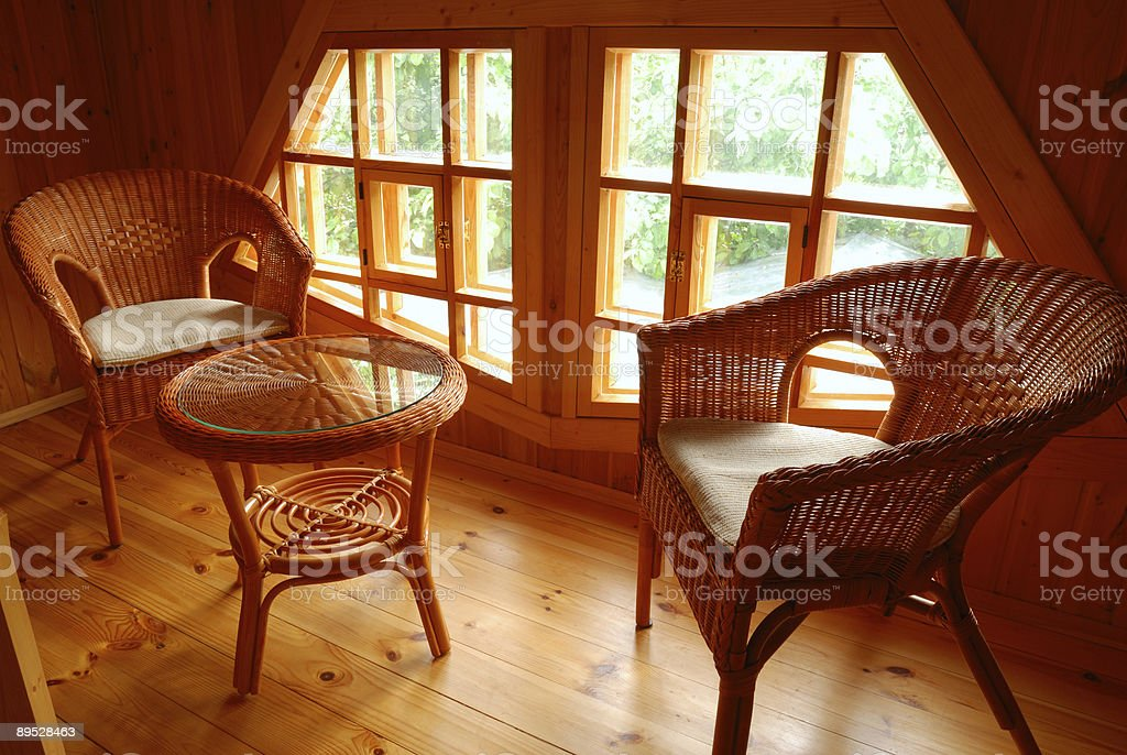 Patio furniture royalty-free stock photo