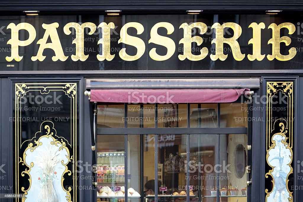 Patisserie Shop In St Germain Paris Stock Photo - Download