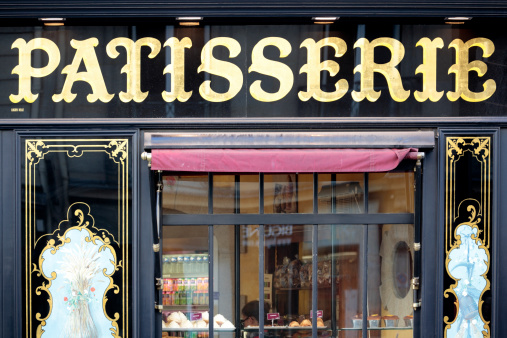 Patisserie Shop In St Germain Paris Stock Photo Download