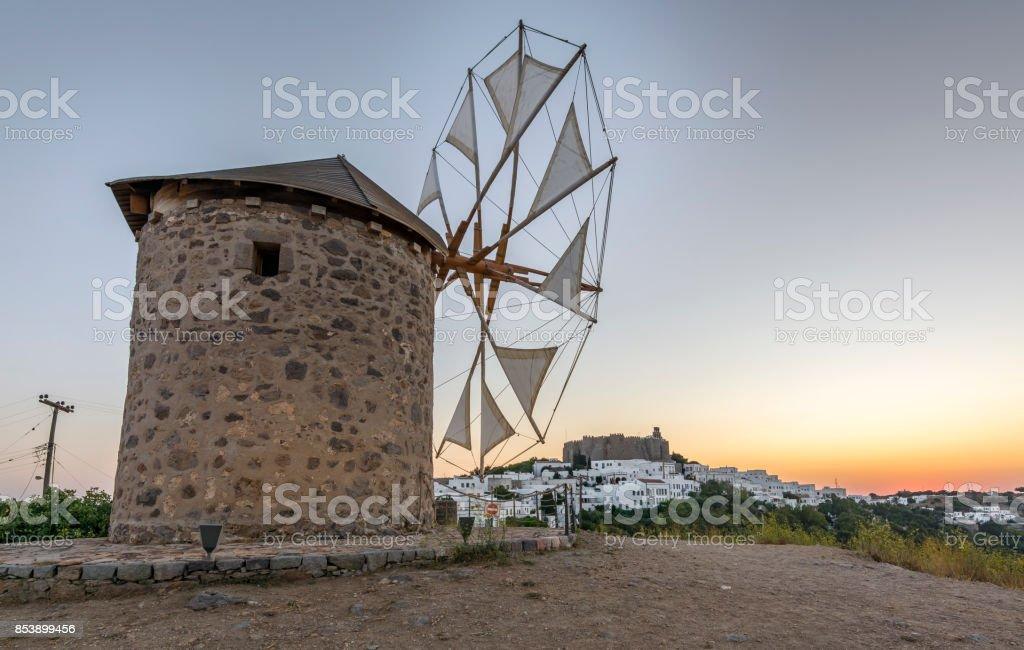 Patmos Island, Greece stock photo